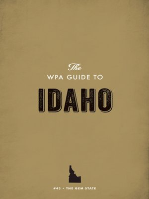 cover image of The WPA Guide to Idaho